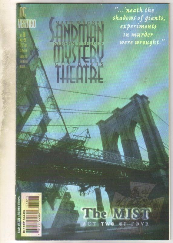 Sandman Mystery Theater #38 comic book near mint 9.4