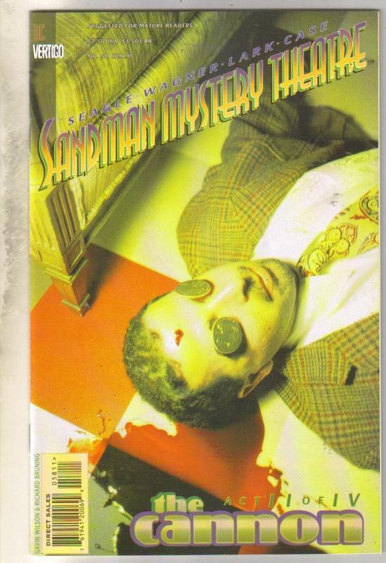 Sandman Mystery Theater #58 comic book near mint 9.4