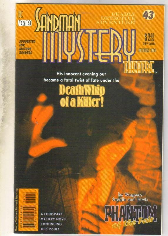 Sandman Mystery Theater #43 comic book near mint 9.4