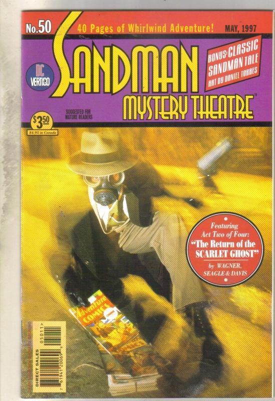 Sandman Mystery Theater #50 comic book near mint 9.4