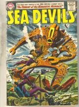 Sea Devils #12 comic book very good 4.0