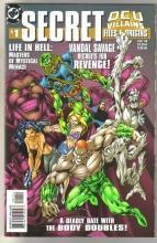 Secret Files and Origins DCU Villains #1 comic book near mint 9.4