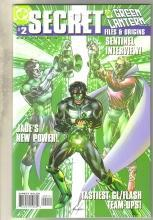 Secret Files and Origins Green Lantern #2 comic book  mint 9.8