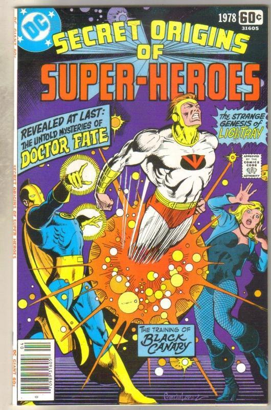 Secret Origins of Super Heroes 1978 special near mint 9.4