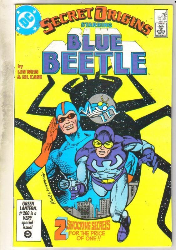 Secret Origins #2 Blue Beetle near mint 9.4