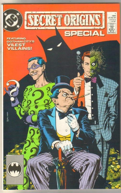 Secret Origins Special (Villains) near mint 9.4