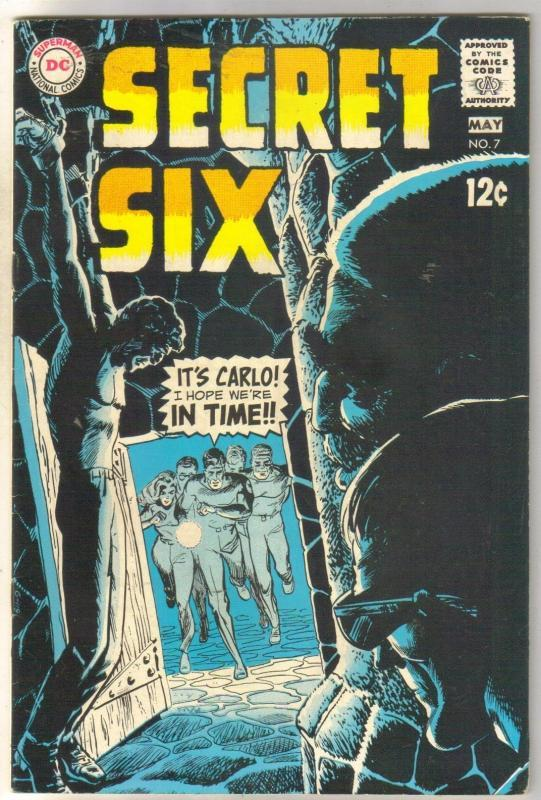 Secret Six #7 comic book very fine 8.0
