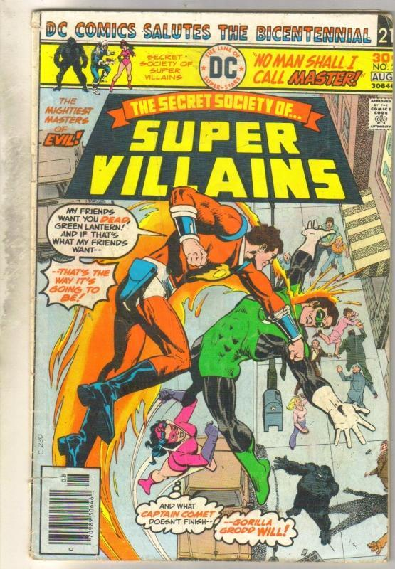 Secret Society of Super Villains #2 comic book good/very good 3.0