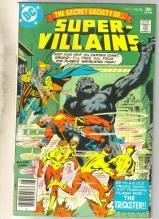 Secret Society of Super Villains #8 comic book fine/very fine 7.0