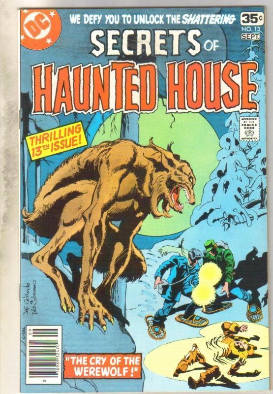 Secrets of Haunted House #13 comic book near mint 9.4