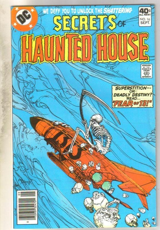 Secrets of Haunted House #16 comic book very fine/near mint 9.0