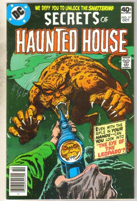 Secrets of Haunted House #17 comic book very fine/near mint 9.0