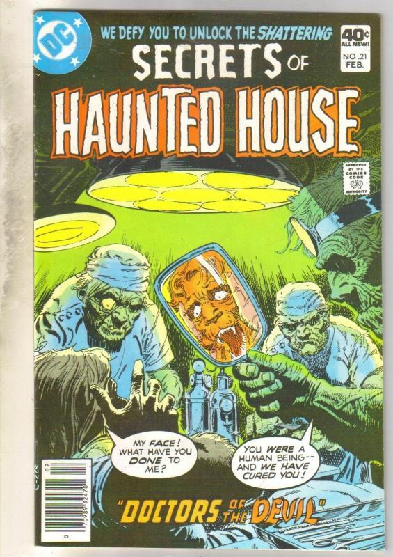 Secrets of Haunted House #21 comic book very fine/near mint 9.0