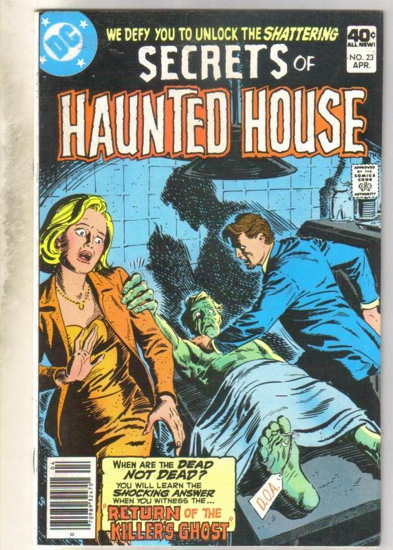 Secrets of Haunted House #23 comic book near mint 9.4