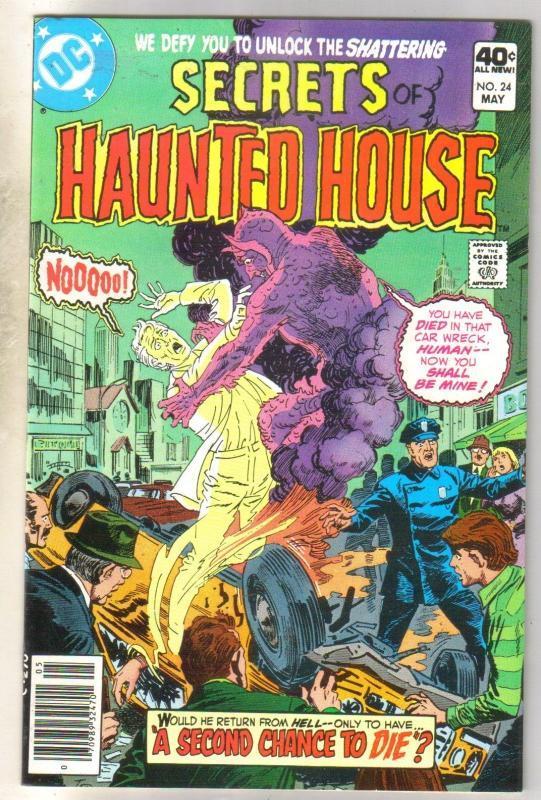 Secrets of Haunted House #24 comic book near mint 9.4