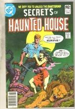 Secrets of Haunted House #25 comic book very fine/near mint 9.0