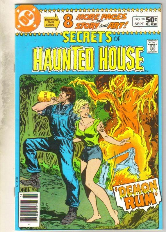 Secrets of Haunted House #28 comic book very fine/near mint 9.0