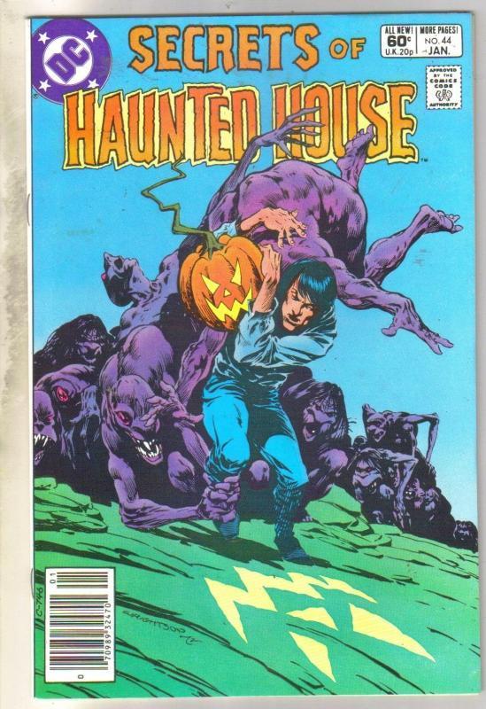 Secrets of Haunted House #44 comic book near mint 9.4