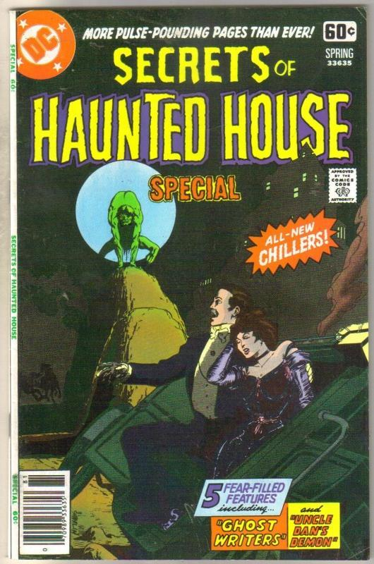 Secrets of Haunted House (DC Special #2) comic book very fine 8.0