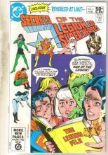 Secrets of  the Legion of Super-heroes #2 comic book very fine/near mint 9.0