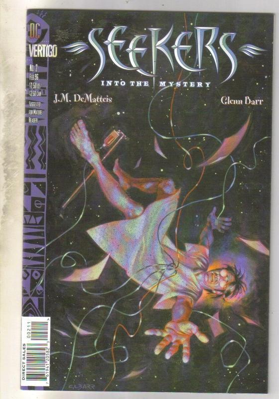 Seekers Into the Mystery #2 comic book very fine/near mint 9.0