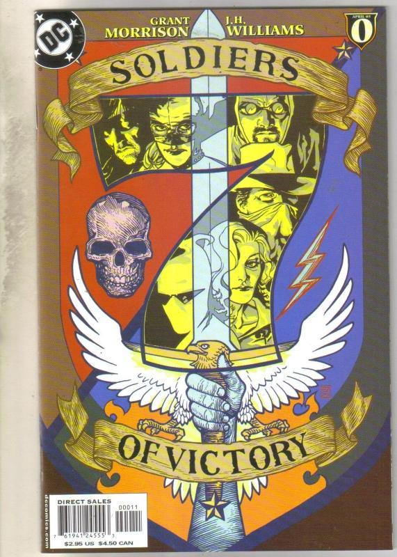 Soldiers of Victpry #0 comic book  mint 9.8