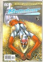 Seven Soldiers Bulleteer #3 comic book  near mint 9.4