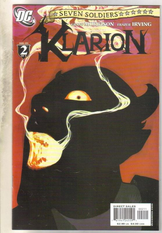 Seven Soldiers klarion #2 comic book  near mint 9.4