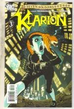 Seven Soldiers klarion #3 comic book  near mint 9.4