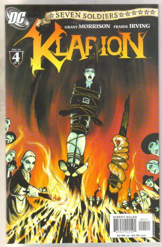 Seven Soldiers klarion #4 comic book  near mint 9.4
