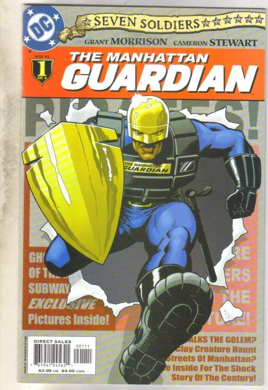 8even Soldiers Manhatten Guardian #1 comic book mint 9.8