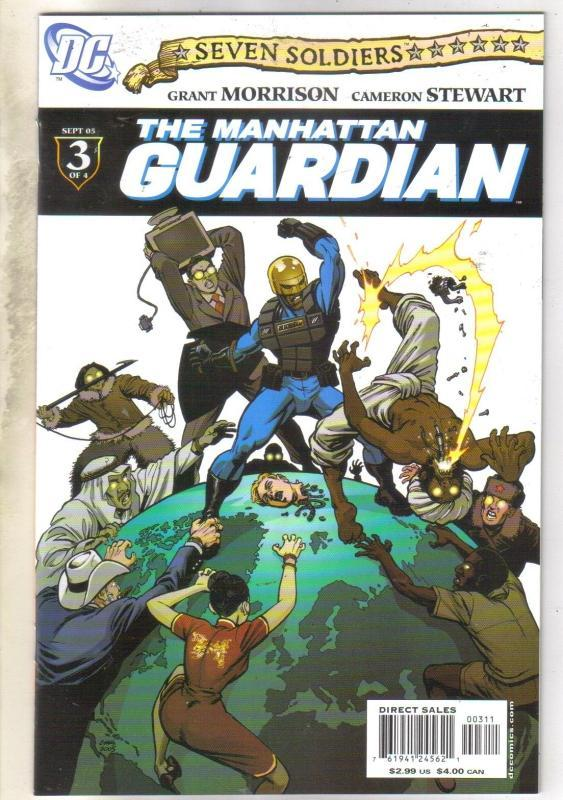 8even Soldiers Manhatten Guardian #3 comic book mint 9.8