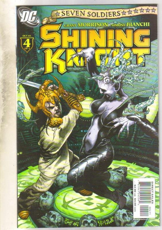 Seven Soldiers Shining Knight #4 comic book  near mint 9.4