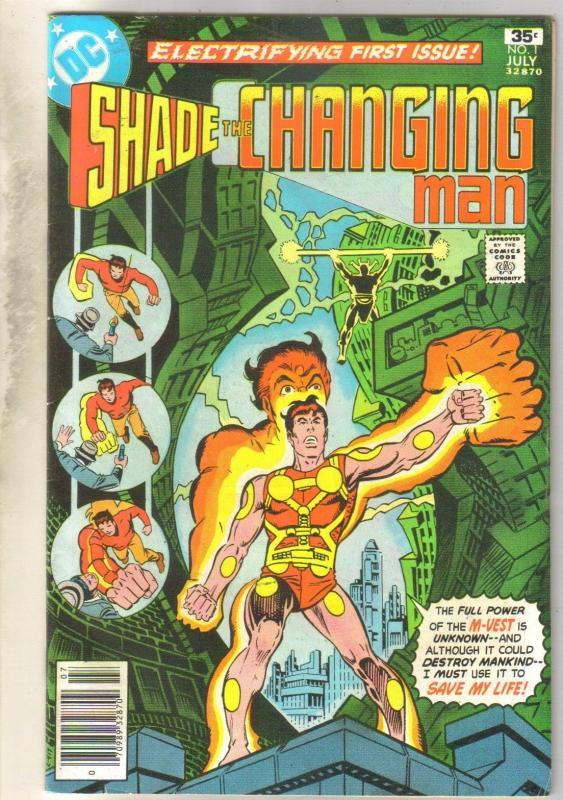 Shade the Changing Man #1 comic book fine/very fine 7.0