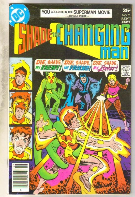 Shade the Changing Man #2 comic book fine/very fine 7.0