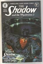 The Shadow and the Mysterious three Fall issue comic book near mint 9.4