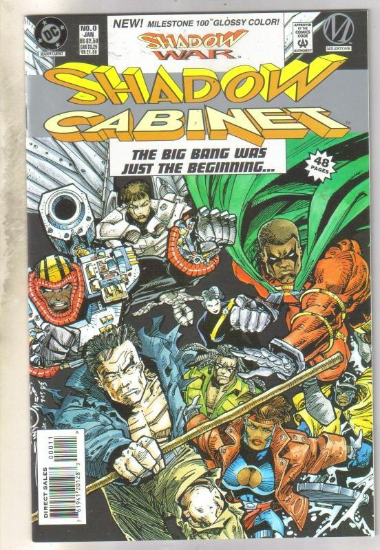 Shadow Cabinet #0 comic book mint 9.8