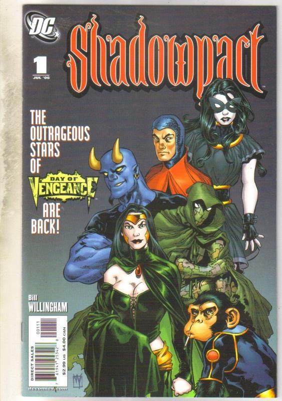 Shadowpact #1 comic book near mint 9.4