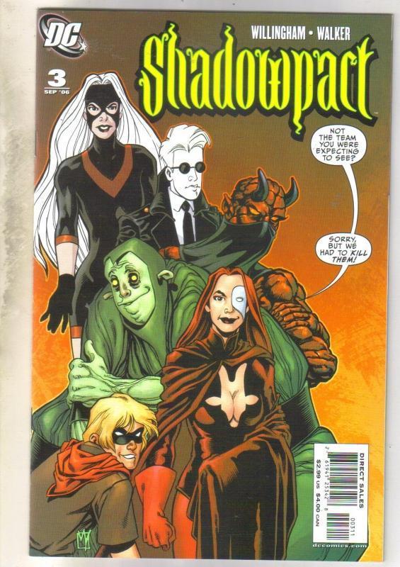 Shadowpact #3 comic book near mint 9.4