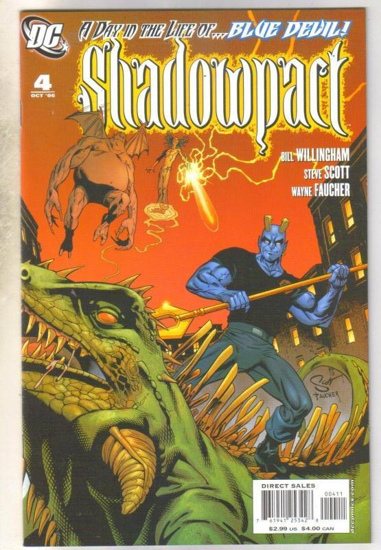 Shadowpact #4 comic book near mint 9.4
