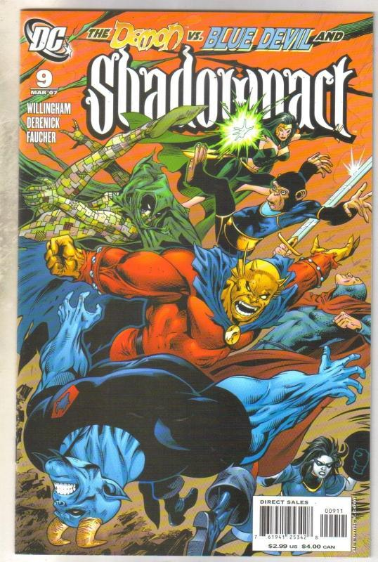 Shadowpact #9 comic book mint 9.8