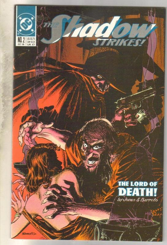 Shadow Strikes #2 comic book mint 9.8