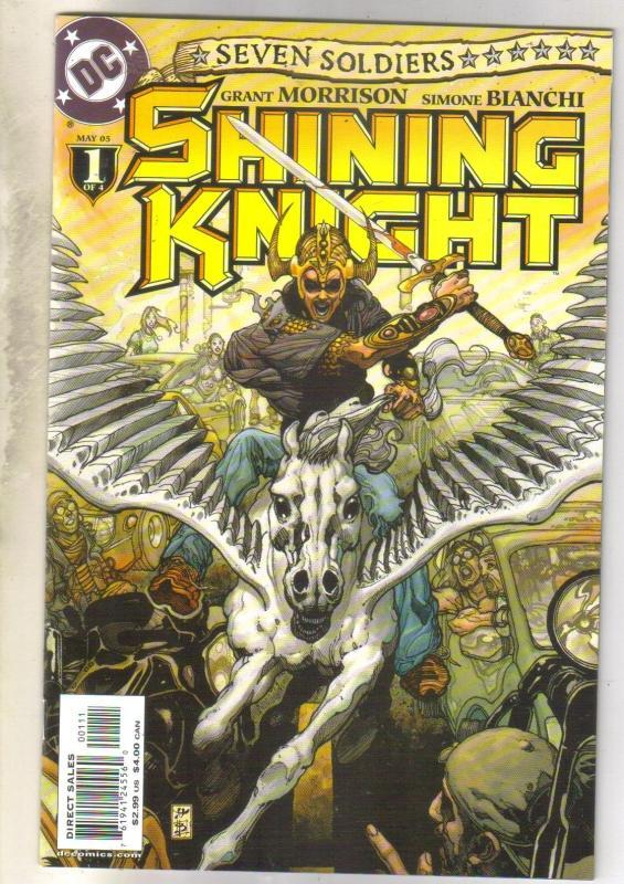 Seven Soldiers Shining Knight #1 comic book near mint 9.4
