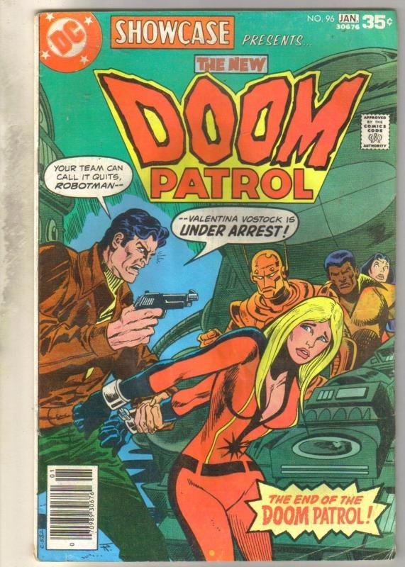 Showcase Presents #93 Doom Patrol comic book very good 4.0