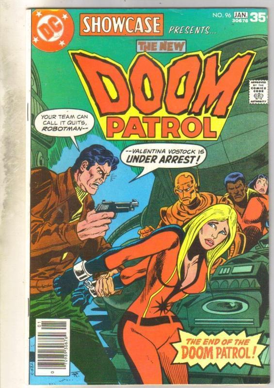 Showcase Presents #94 Doom Patrol comic book fine 6.0