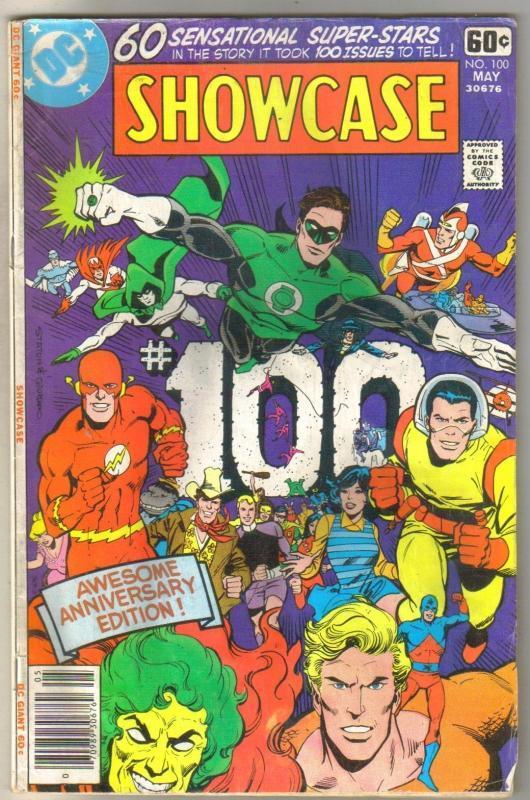 Showcase Presents #100 comic book very good 4.0