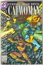Showcase #1 Cyborg Catwoman Blue Devil comic book near mint 9.4