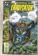 Showcase95 #3 Question Claw Eradicator comic book near mint 9.4