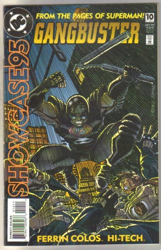 Showcase95 #10 Gangbuster comic book near mint 9.4