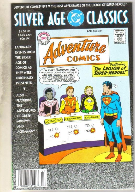 Adventure Comics #247 comic book very fine 8.0